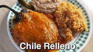 Food Vlog: Chile Relleno (BOMB AF)