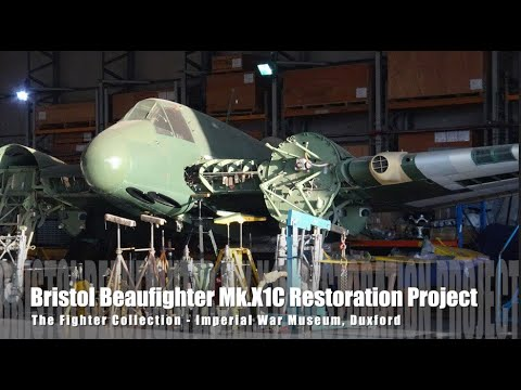 Bristol Beaufighter Restoration - The Fighter Collection, Duxford