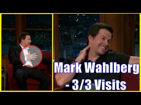 Mark Wahlberg - Talks Eva Mendez & Will Ferrell - 3/3 Appearances In Chron. Order [HD]