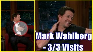 Mark Wahlberg - Talks Eva Mendez & Will Ferrell - 3/3 Appearances In Chron. Order [HD]