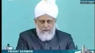 Проповедь Хазрата Мирзы Масрура Ахмада, (28-05-10) часть 2