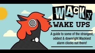 Online Clock's Wacky Wake Ups