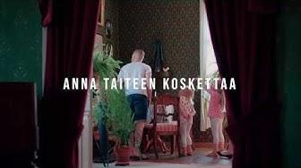 Anna taiteen koskettaa museoissa, gallerioissa, tapahtumissa, taiteen työpajoissa Visit Raahe teaser