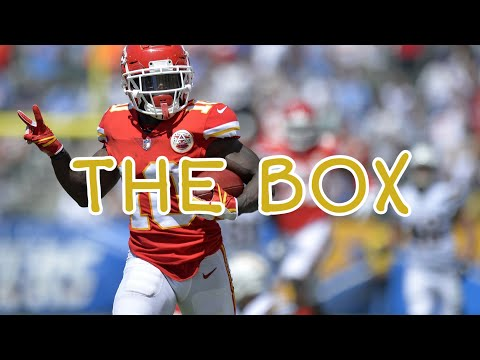 Tyreek Hill The Box Roddy Ricch