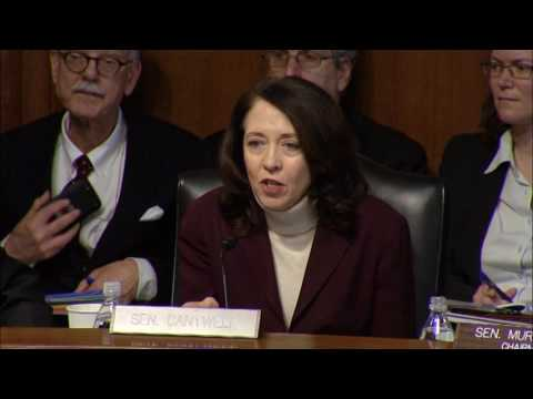 Sen. Cantwell Conducts Round 1 of Q&A With Rick Perry