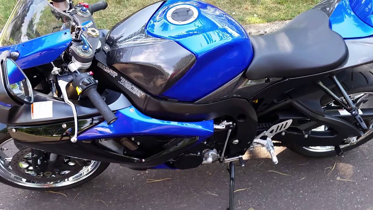 Remove Fairing On  Suzuki Gsxr