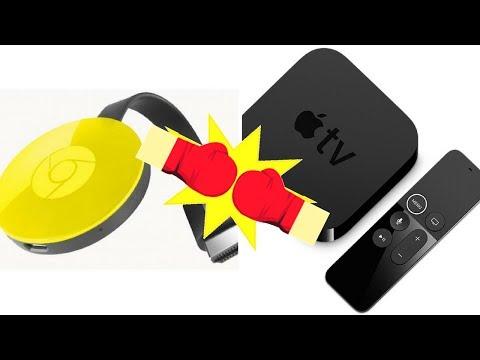 Quem leva a melhor? Venha conferir em Chrome Cast x Apple Tv!