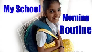 My School Morning Routine | Indian Kid Youtuber | Kids Happiness