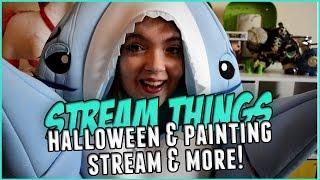Halloween Shark Costume Stream & More (Updates)