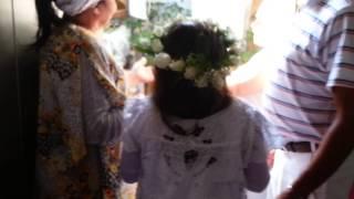 Batizado de minha filha no candomblé