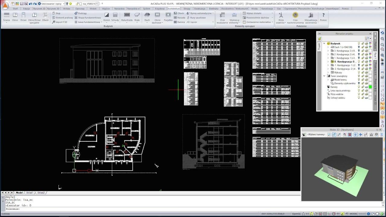 ArCADia BIM - webinarium, szkolenie z CAD | ArCADia-ARCHITEKTURA 9 - NOWOŚCI