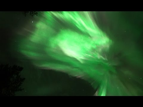 real time northern lights aurora borealis no time lapse filmed