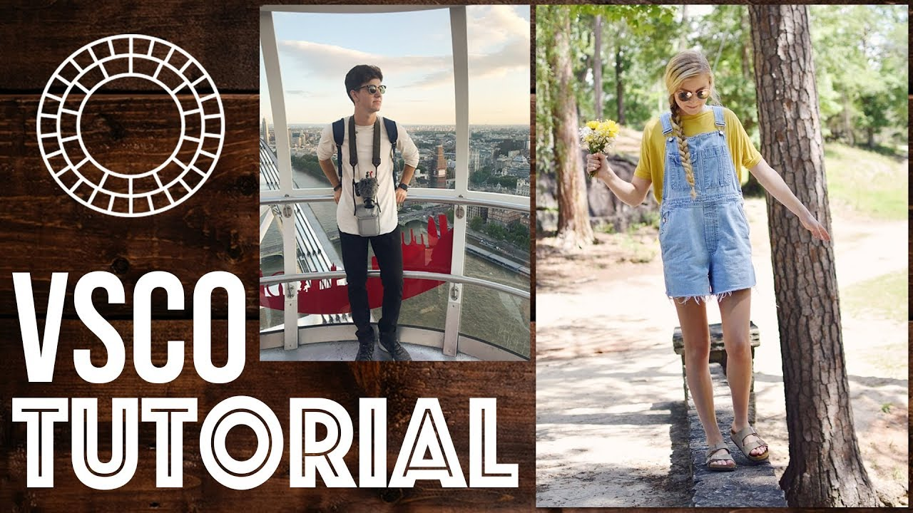 VSCO TUTORIAL 2018 - How to Make Editing SIMPLE (PRESETS)