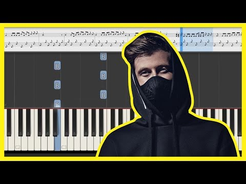 Download - alan walker darkside piano sheet music video, ng ytb lv