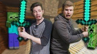 Exploring A Mine Shaft!   Minecraft [Ep 16]