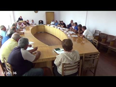 Ավագանու հերթական նիստ-30.07.2018