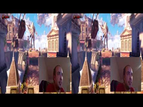 3D Gaming Test #1 - Bioshock Infinite