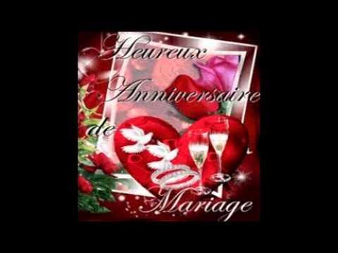 joyeux anniversaire pous vos 5 ans de mariage roselia youtube. Black Bedroom Furniture Sets. Home Design Ideas