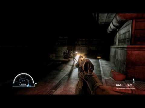 Gamers Curiosity - Let's Play Aliens vs Predator with Luke (Marine Part 2) (HD)