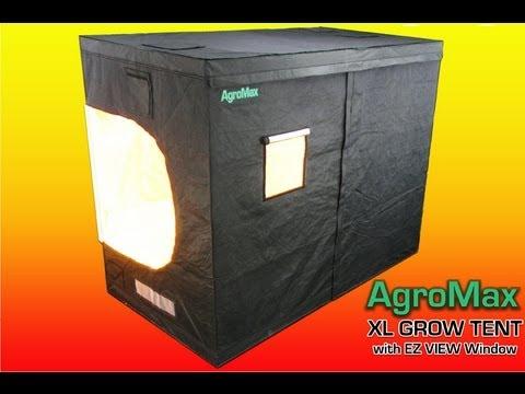 AGROMAX XL 4x8 GROW TENT with EZ VIEW WINDOW //.htgsupply.com/Category-Grow-Tents & AGROMAX XL 4x8 GROW TENT with EZ VIEW WINDOW http://www.htgsupply ...