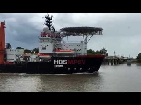 FEMA Floatel ship headed to Baton Rouge