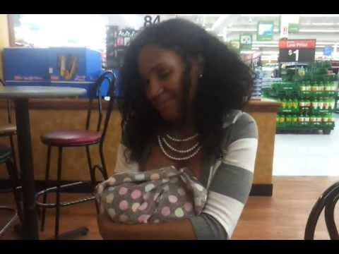 Breastfeeding in Wal-Mart??!!