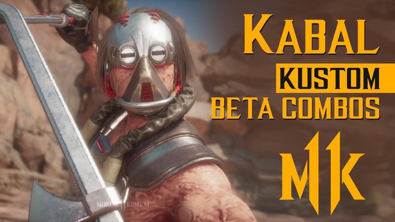 KABAL (Hook Grab/Extended Hook) Combos with Inputs – Mortal Kombat 11 Beta