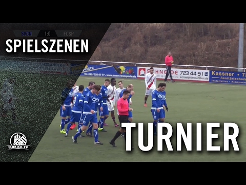 SV Curslack-Neuengamme - FC St. Pauli II (Halbfinale, Kohbau Cup 2017) Spielszenen | ELBKICK.TV