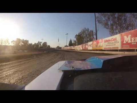 """Bakersfield Speedway 6-25-16 """"Richie McGowan Memorial"""" Hobby Stock Heat 3 #25 GoPro"""
