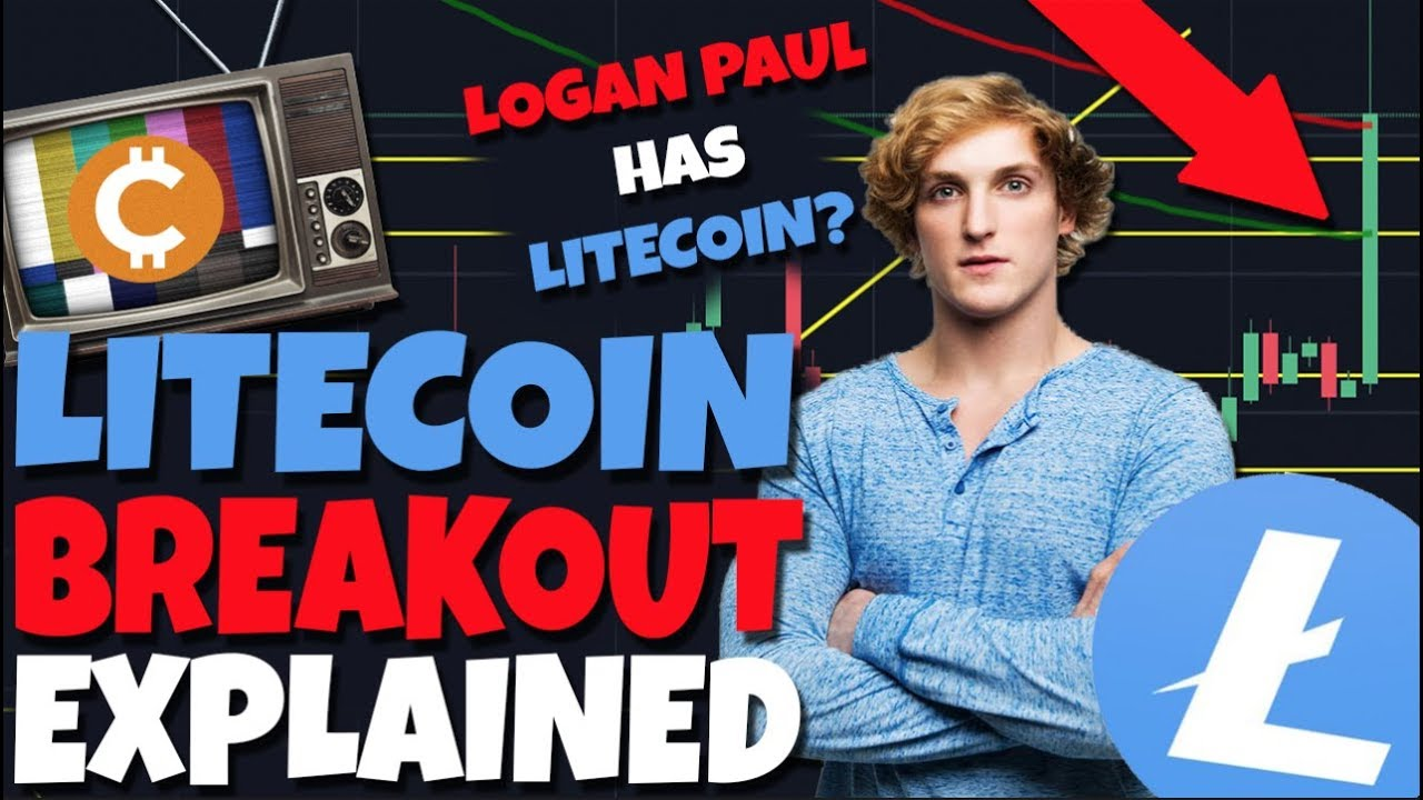 Litecoin BREAKOUT Explained - Should You Sell - LOGAN PAUL HAS LITECOIN? - Mammoth Film Festival