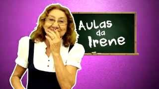 AULAS DA IRENE- Christian Figueiredo , Cocielo, Roberta Close e Robin Williams