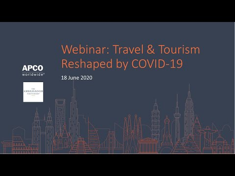 Webinar: UK Travel \u0026 Tourism Reshaped By The COVID-19 Pandemic