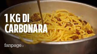 Roma, la sfida del ristorante romano: se mangi 1 kg di carbonara non paghi