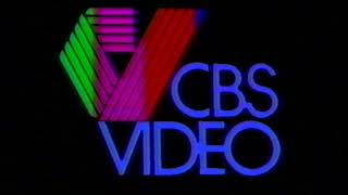 MGM/CBS Home Video and CBS Video logos (1980/1981) [60 FPS]
