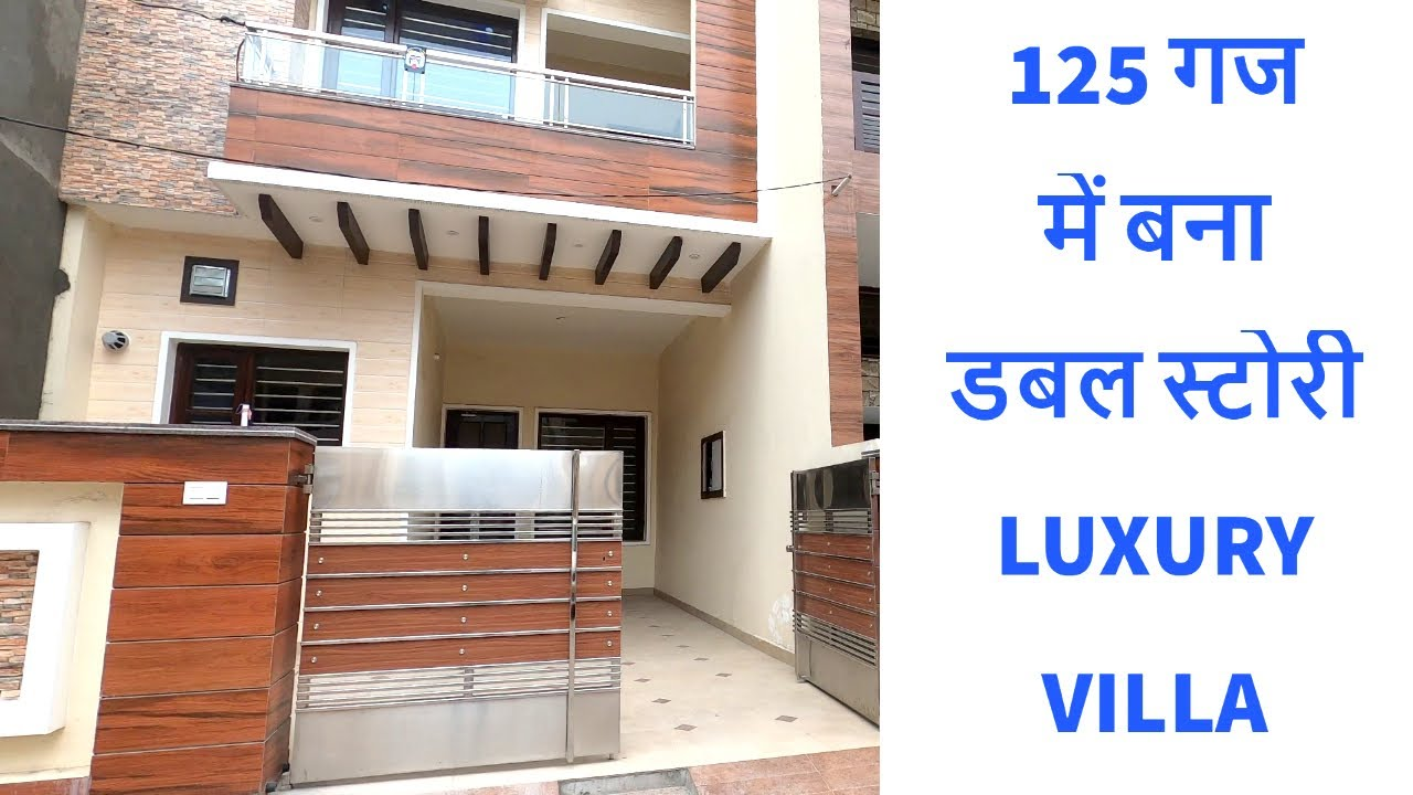 125 Sq Yard 3 BHK Duplex Luxury Villa in Zirakpur, Near Chandigarh | #luxuryvillainzirakpur