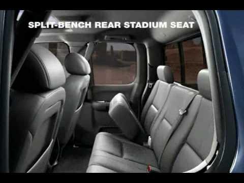 Chevrolet Silverado Folding Rear Seats Youtube