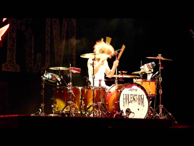 Arejay Hale - Halestorm - Drum Solo! September 7th, 2013