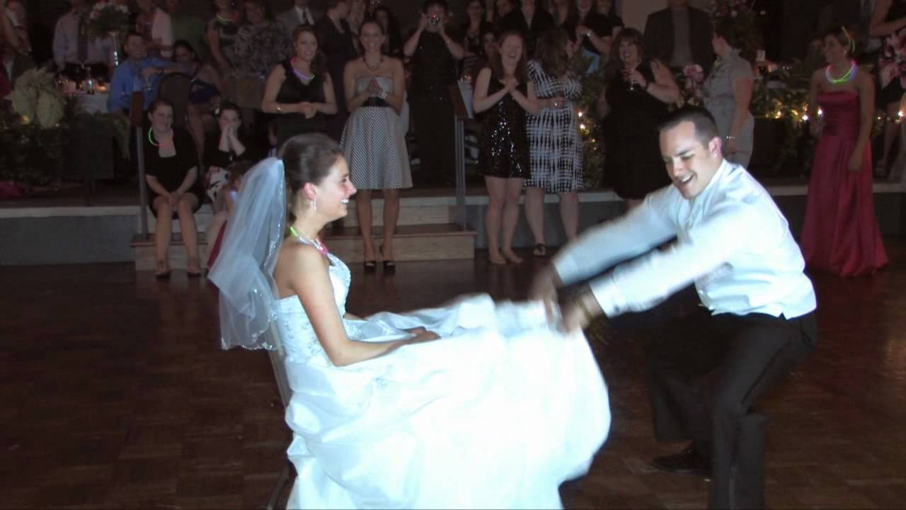 The Best Wedding Garter Dance Ever