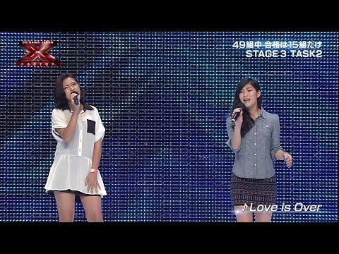 甘露寺絢子&幸良裕美 Ayako&Hiromi STAGE3 TASK2  X Factor Okinawa Japan