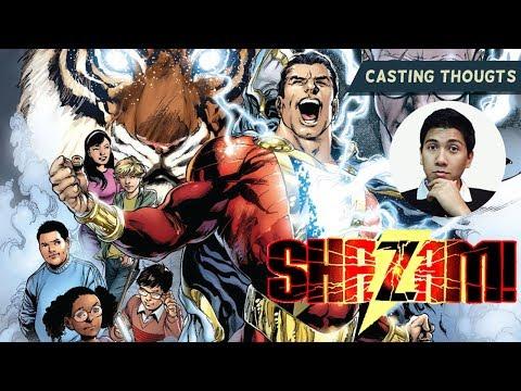 """Casting Thoughts on """"Shazam Movie"""""""