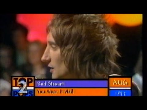 Rod Stewart Feat. Faces - You Wear It Well - TOTP2 1972