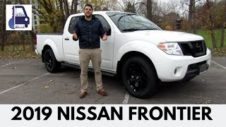 2019 Nissan Frontier SV Midnight Edition Crew Cab 4x4 In Depth Walk Around and Detailed Review
