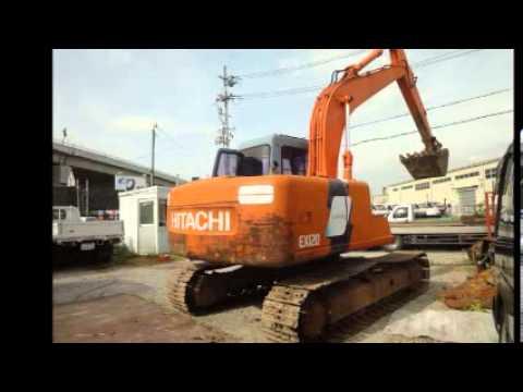 中古重機販売 日立EX1203ユンボ・パワーショベル・バックホウ・HITACHI