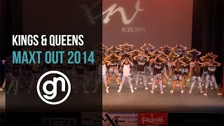 Jeff & Dimitri Present Kings & Queens [1st Place Major Chor] | Maxt Out XIV 2014 [Official 4k]