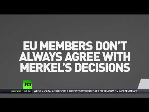 Angela Merkel: Decisive figure... with not every decision welcomed by EU