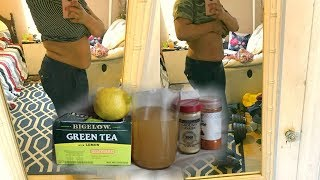 I LOST 8 POUNDS IN 7 DAYS DRINKING APPLE CIDER VINEGAR WEIGHT LOSS DRINK + BEFORE AND AFTER PICTURES