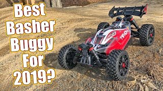 High Flying Super Fast Radio Control Buggy! Arrma Typhon 4x4 3S BLX Electric Review | RC Driver