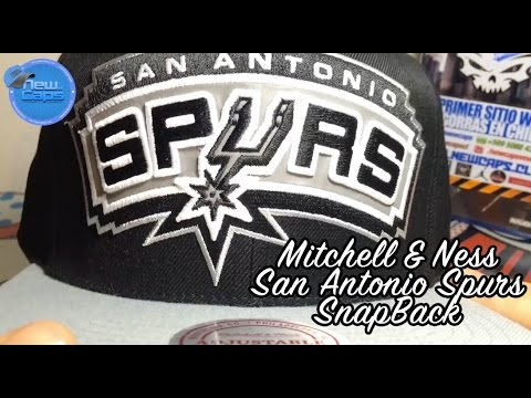 San Antonio Spurs mitchell   Ness - Snapback  newcaps.cl - YouTube 2f1fa54a033