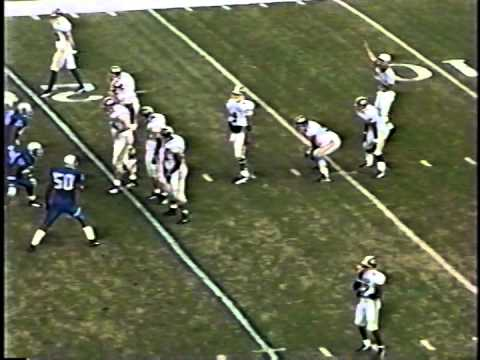memphis vs east carolina football 1996 part 1