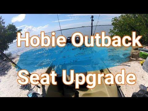 Hobie Outback Seat Upgrade           Hank Pretz Kayak Fishing